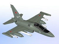Yak-130 Aircraft Model