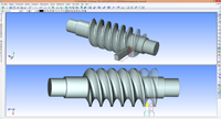 Parametric Model with NC Program Generation for Manufacturing Worm Gears with ZT2-shape Profile
